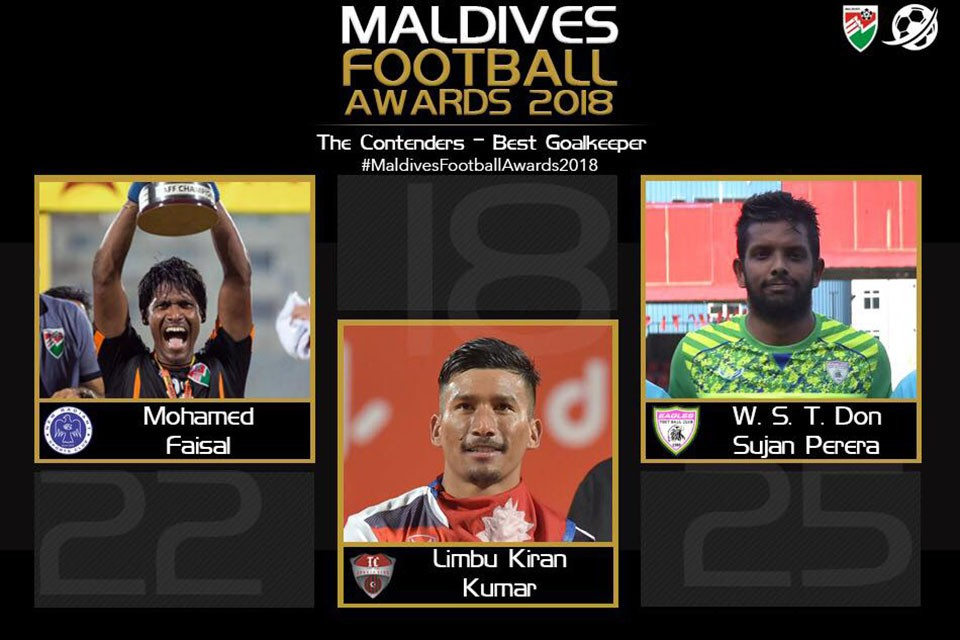 Nepal No 1 Kiran Chemjong Nominated In Maldives Football Awards