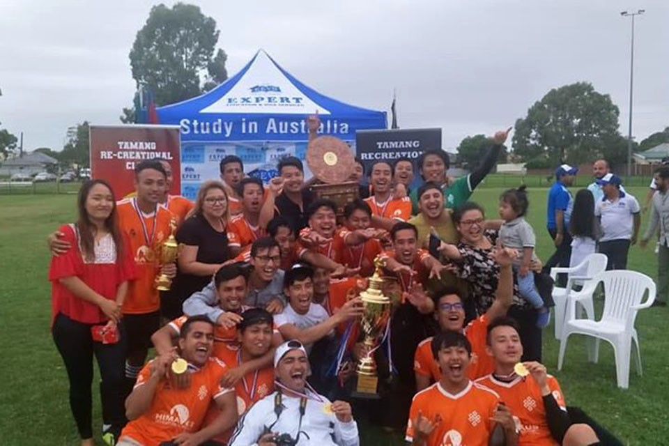 Australia: Sagarmatha FC Wins Title Of Tamang Recreational Club 5th Expert Education Cup 2019