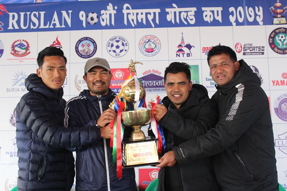 Ruslan 10th Simara Gold Cup FINAL: Ruslan Three Star Club Vs Nepal Army Today