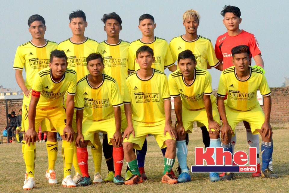 Rupandehi: Desbhakta Yuwa Club Enters SFs Of 6th Pharsatikar Cup