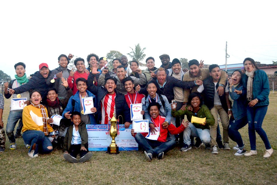 Rupandehi: Bishwo Shanti Wins Title Of 6th Pharsatikar Cup