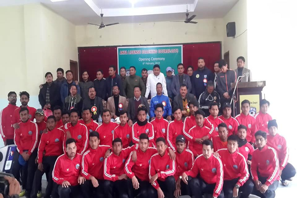 ANFA Coaching Course Of Three Provinces Starts In Kailali