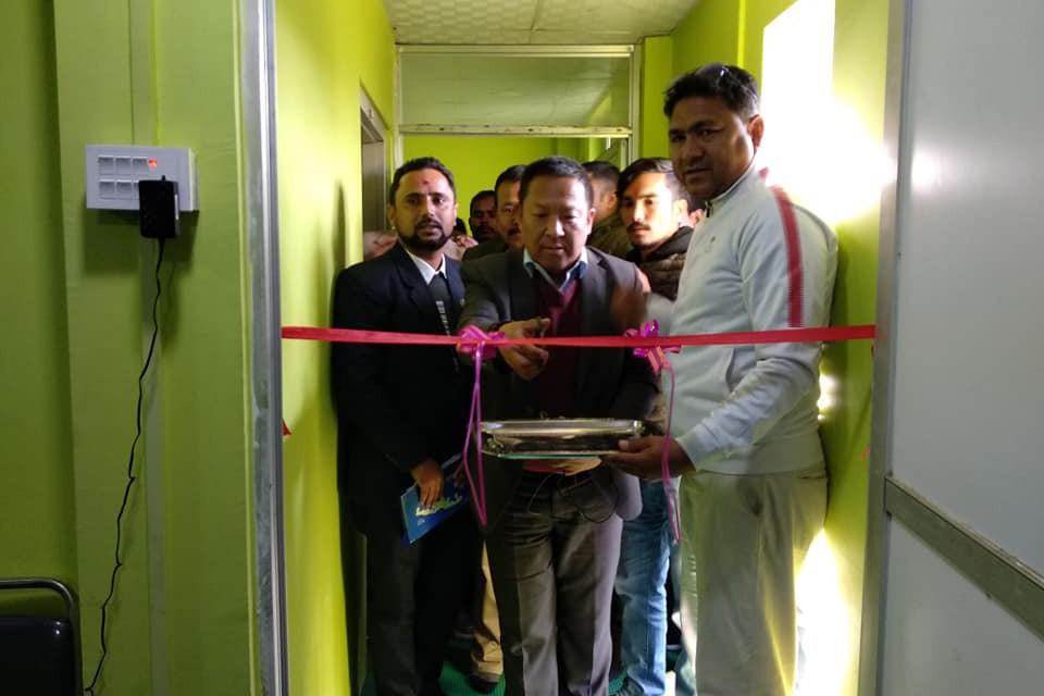 ANFA Prez Karma Tsering Sherpa Unveils Kailali DFA Office