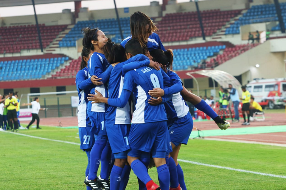Nepal Sets Final Date With Myanmar In Hero Women's Cup