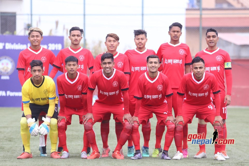 B Division League: Tushal Hammers Khumaltar Youth Club