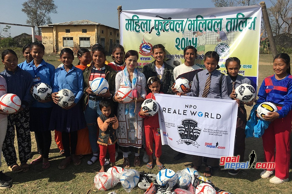 GoalNepal Foundation, Rupandehi DFA Motivate Girls From Kapilvastu District