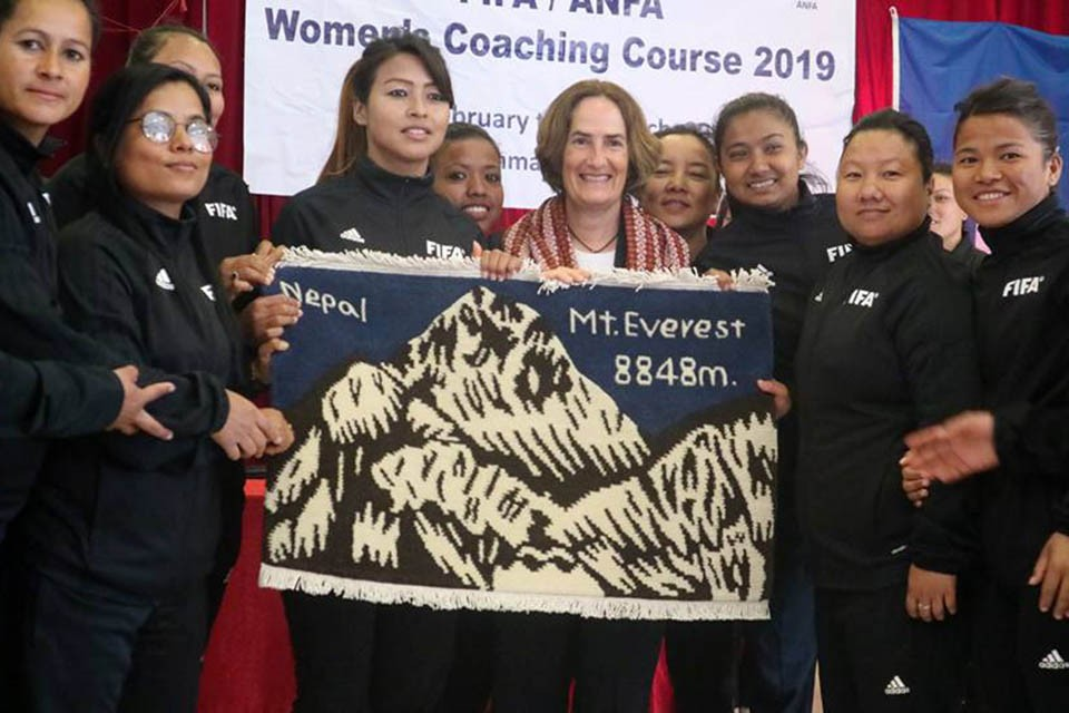FIFA/ANFA women's Coaching Course Concludes