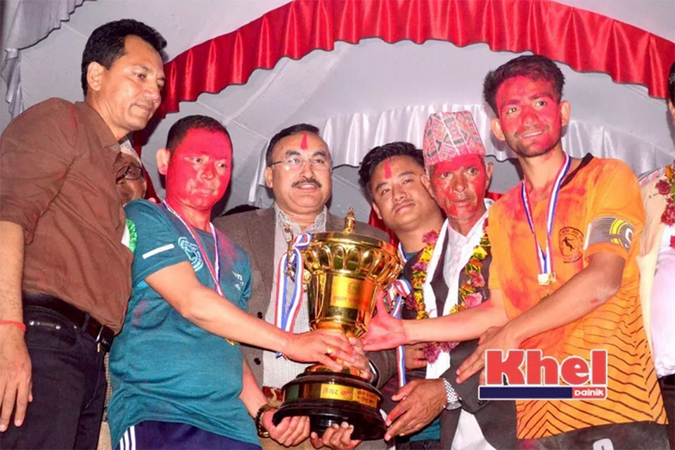 Nawalparasi: Ward Number 8 Wins Title Of 2nd Sunawol Mayor Cup