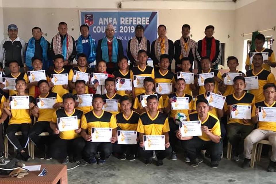 ANFA Referee Course Concludes In Ilam