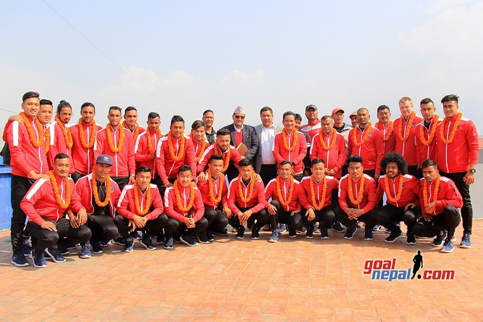 ANFA Bids Farewell To Nepal National Team (With Squad List)