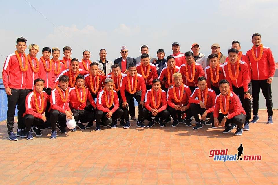 ANFA Bids Farewell To Nepal U23 National Team (With Squad List)