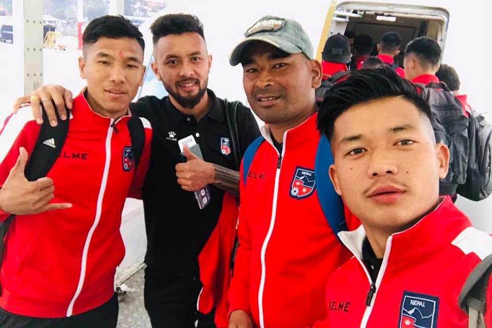 Team Nepal Off To Kuwait - WITH PICTURES