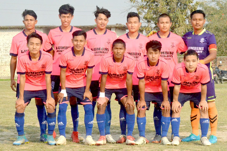 Rupandehi: Jharna Sports Club Enters SFs Of 9th Nawayuwa Cup