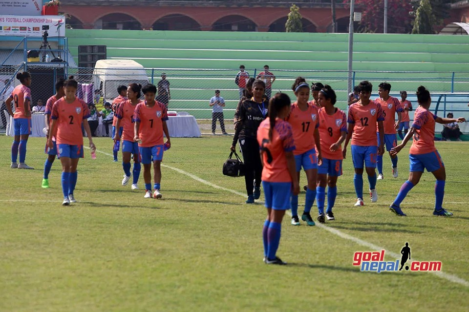 SAFF Women's Championship SF: India Vs Bangladesh - LIVE