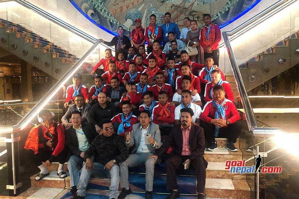 NRNA Kuwait Welcomes Nepal National Team To Kuwait City