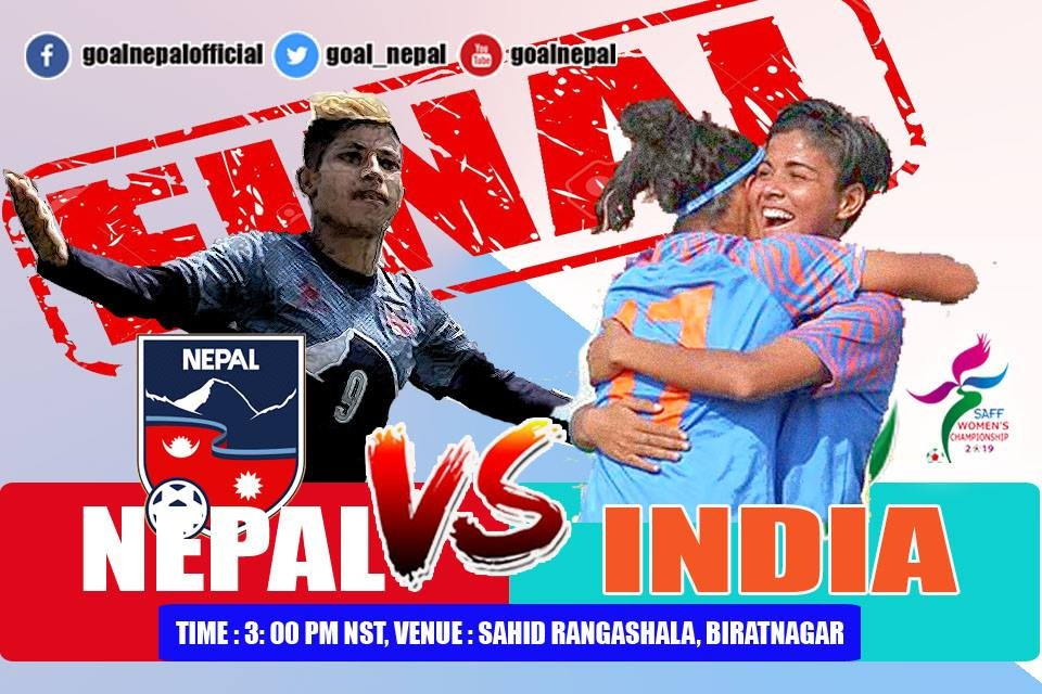 SAFF Women's Championship 2019 FINAL: Nepal Vs India Today