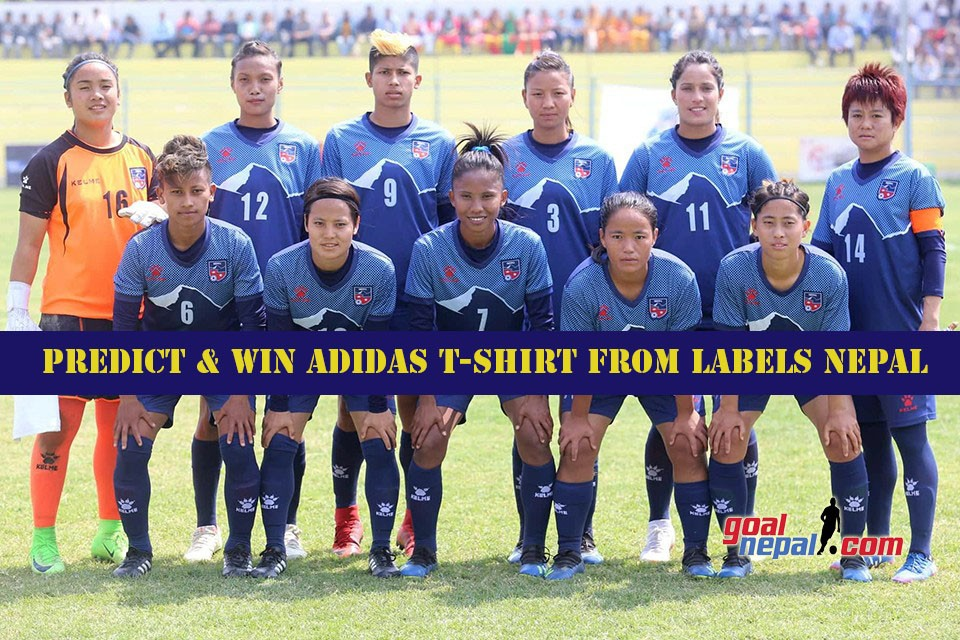 SAFF Women's Championship 2019 Final: Nepal Vs India:  Predict & Win Adidas T-shirt From Labels Nepal