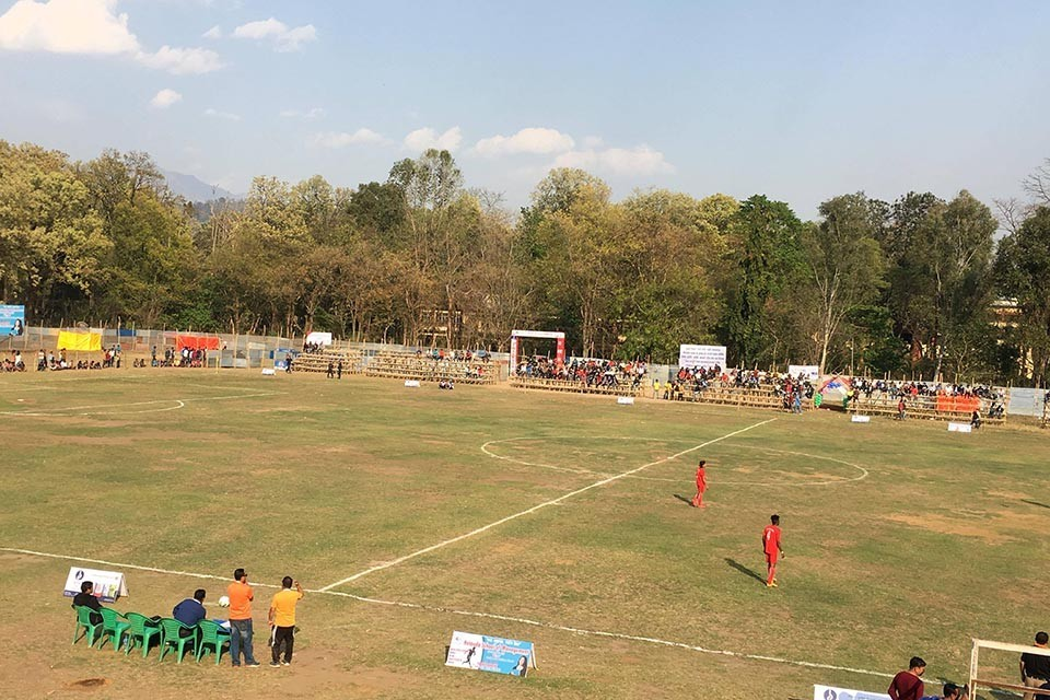Bhugarva Cement Martyr's Memorial Makwanpur Gold Cup: Nepal Police Club Vs Chyasal Youth Today