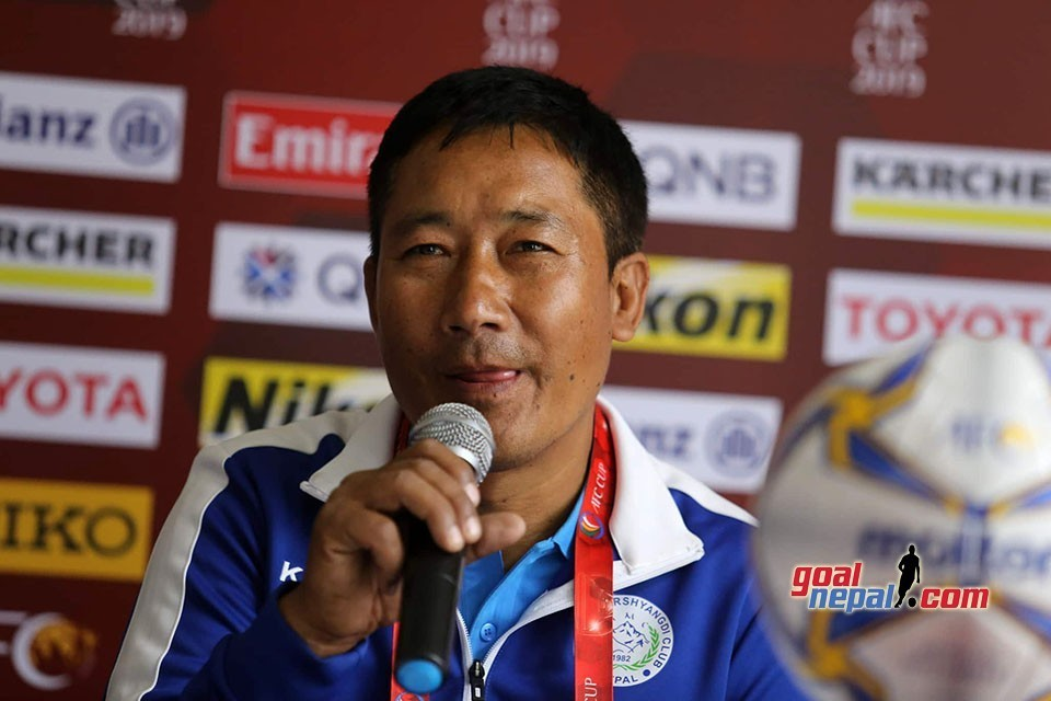 MMC Coach Chirring Lopsang Gurung: I Am Satisfied With Player's Performance
