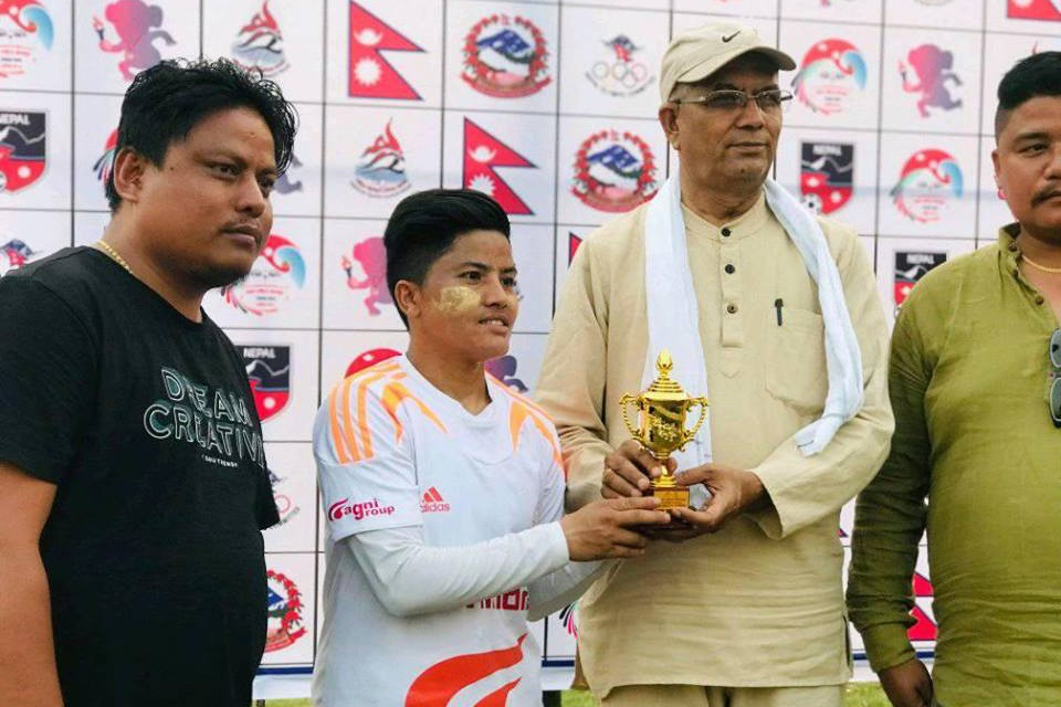8th National Games: Nepal APF Provides Tutorial To Karnali Province
