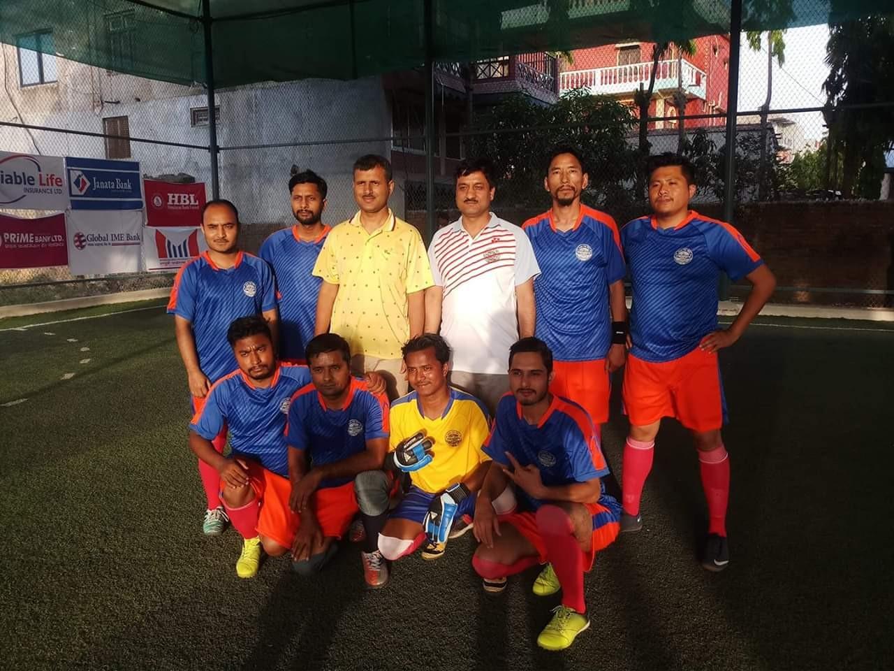 Banke: Nepal Bank Beats Gandaki Bikash Bank In 1st Inter Bank Futsal Tournament