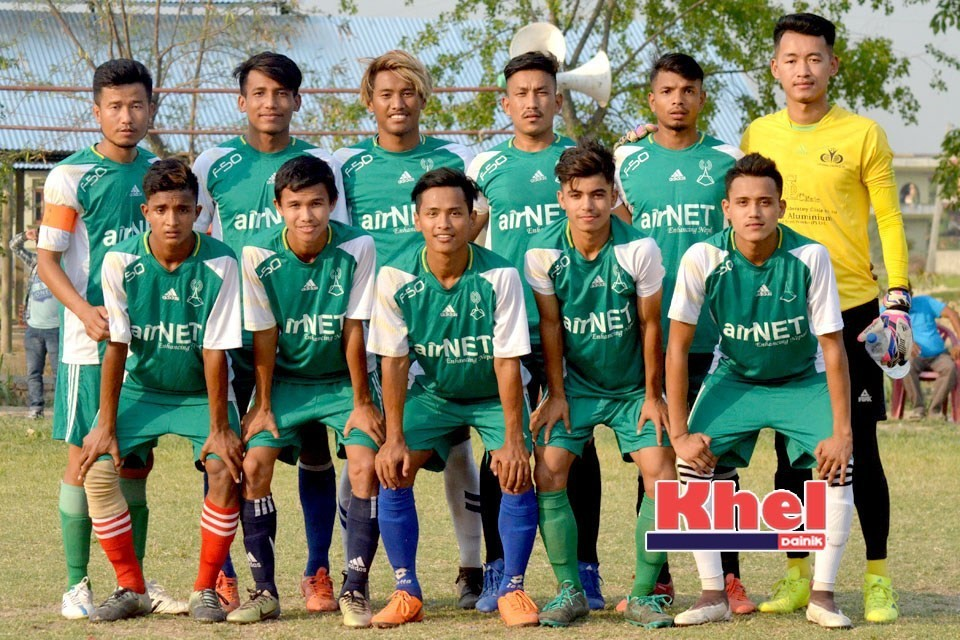 Rupandehi: Hosts New Srijana Yuwa Club Enters Final Of 4th New Srijana Cup