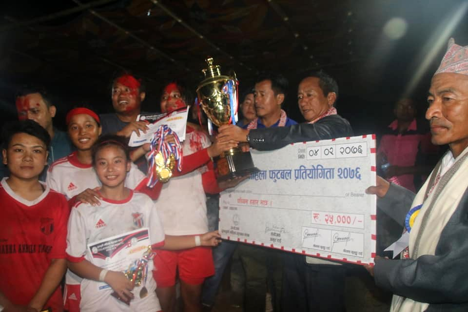 Ilam: Satasidham Women's Wins Title Of Chulachuli Cup