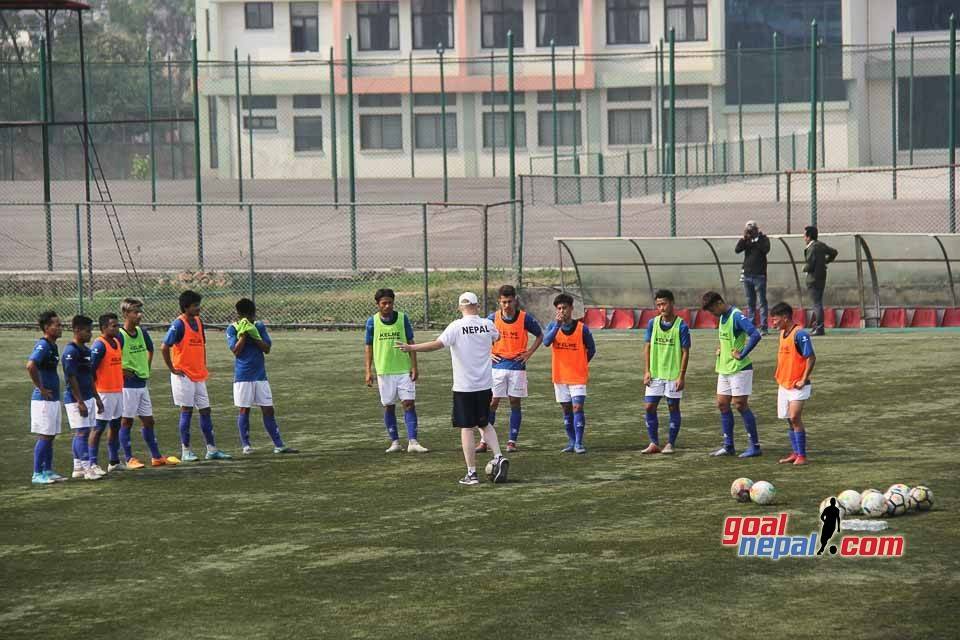 Nepal Coach Johan Kalin Announces FINAL Squad For Two Friendly Matches