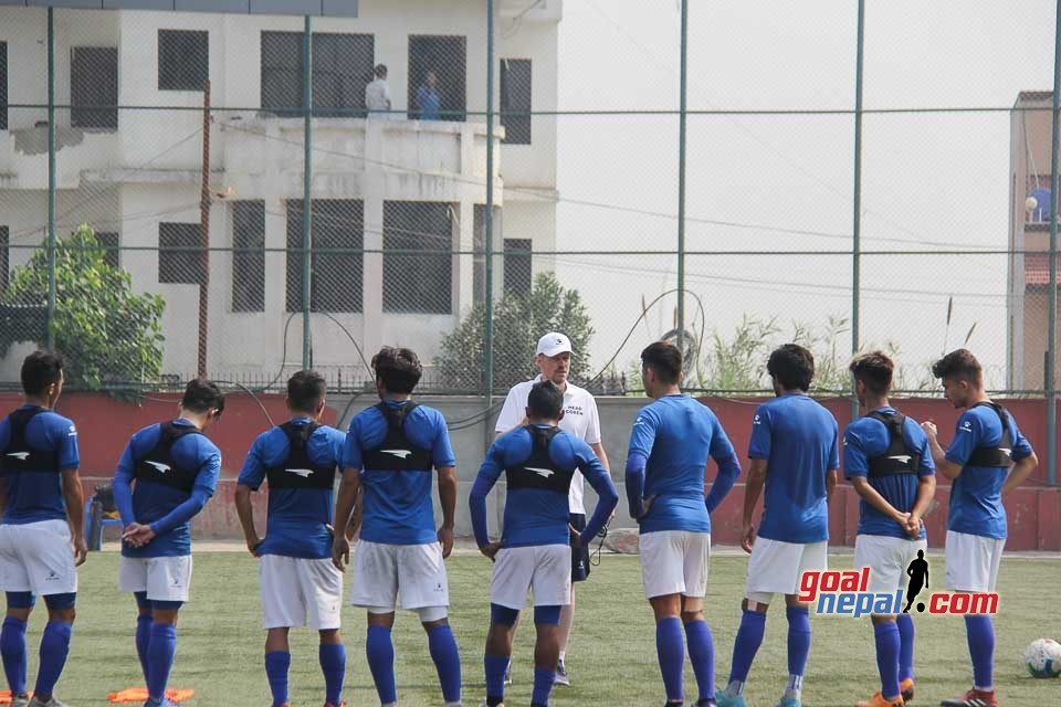 Nepal Coach Johan Kalin: I Have Selected The Players Based On Their Performance