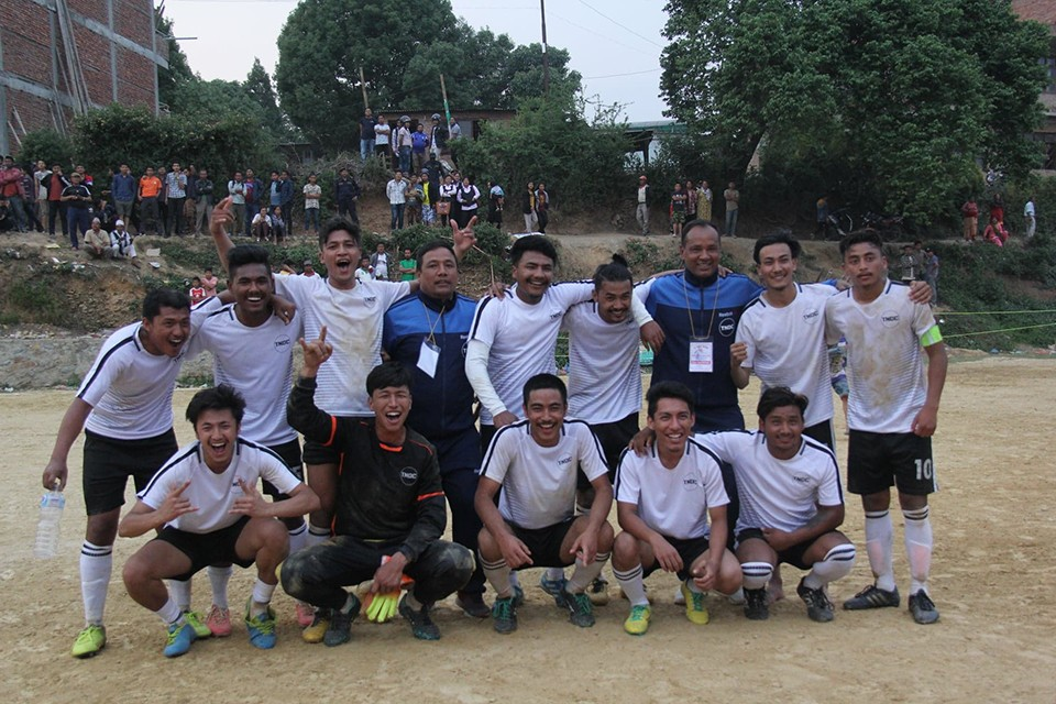 Lalitpur: Region No 3 Jawalakhel & TNDC Thecho Enter SFs Of Godawori Mayor Cup