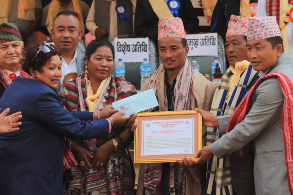 Dhankuta: Buddha Chemjong Honored At Rajarani