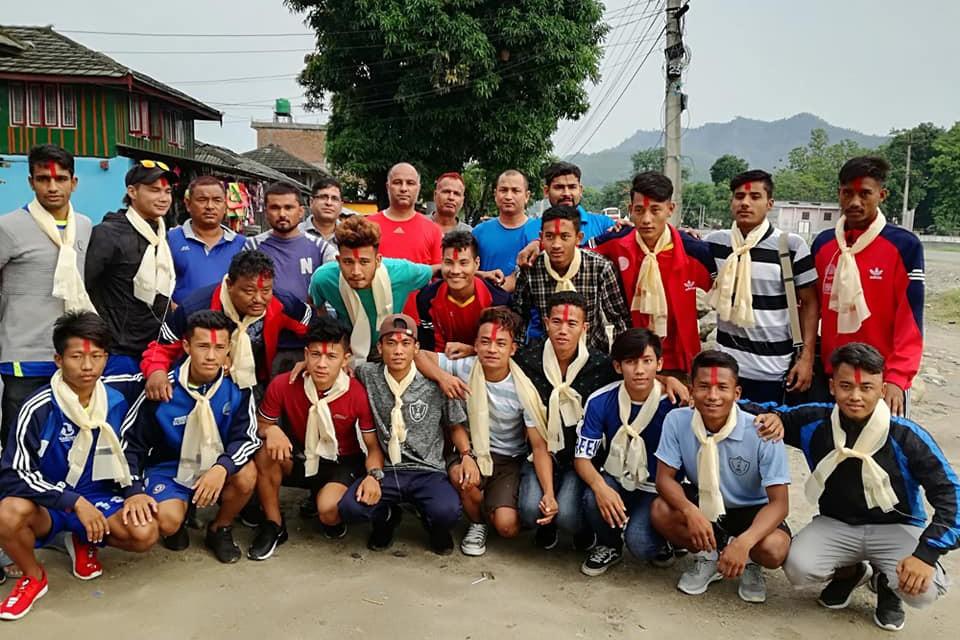 Sarlahi: Bagmati Yuwa Club Off To Kathmandu To Compete In C Div Qualifiers