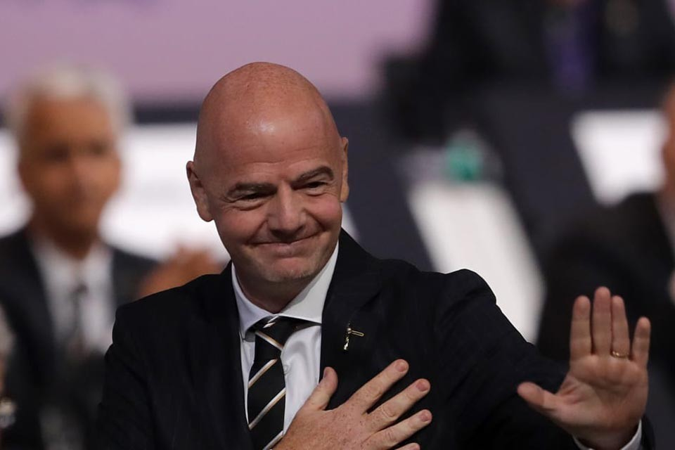 Gianni Infantino Is re-elected As FIFA President Until 2023