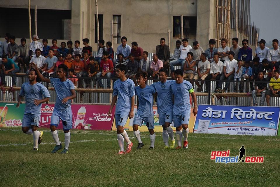 6th Rumpum Udayapur Gold Cup: Morang Beats NPC To Enter SFs - MATCH HIGHLIGHTS