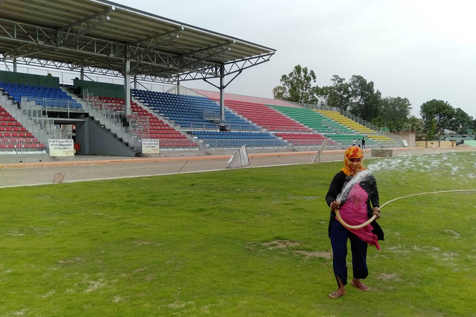 Why The Newly Constructed Nepalgunj Stadium Isn't Handed Over For Playing ?