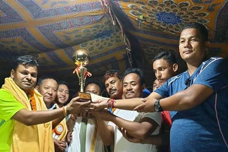 Yagyabhumi Yuwa Samaj Wins Title Of Dhanusha District League