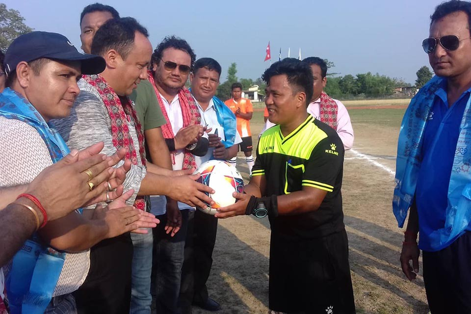 Taratal Youth Club Wins Title Of Bardiya District League