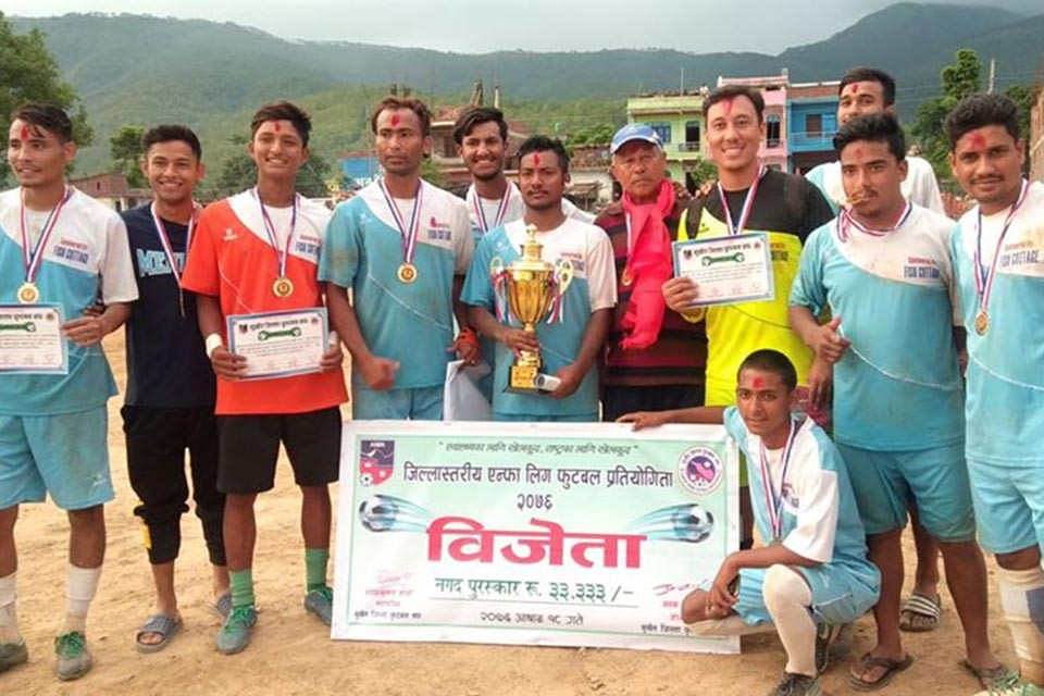 ABC Sports Club Wins Title Of Surkhet District League