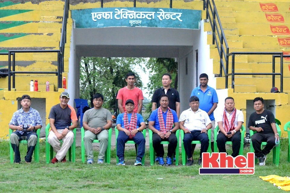 FIFA Officer Inspects ANFA Technical Centre, Butwal