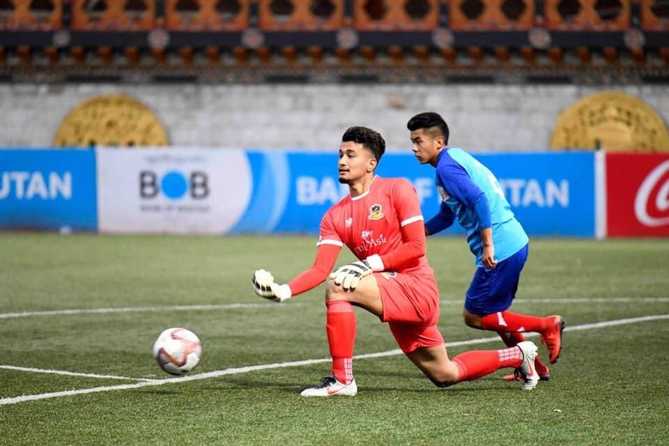 Nepal U23 Goalie Arpan Karki Featured In Paro FC Win Over BFF Academy