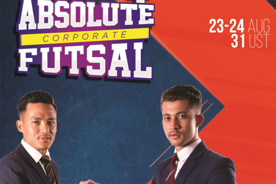 Absolute Event Organizing 4th Absolute Corporate Futsal From August 23