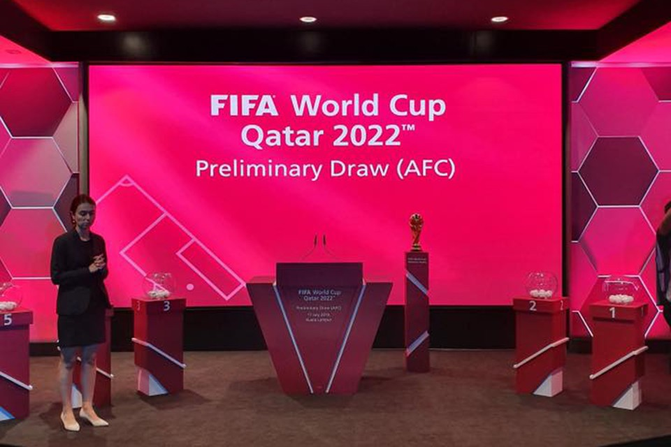 Draw For 2nd Round Of Asian qualifiers for the FIFA World Cup Qatar 2022™ - LIVE