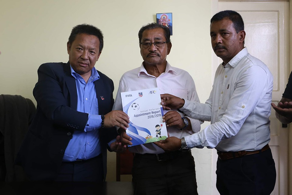 Referee Committee Submits Referees Appointment Report To ANFA