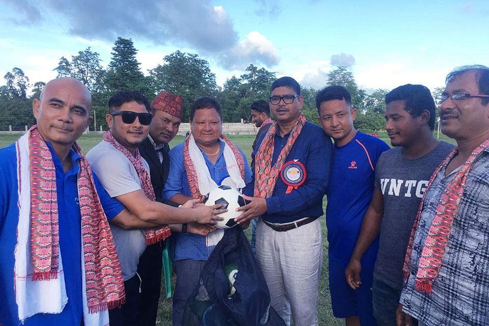 GoalNepal Foundation Supports Bara DFA With 23 Footballs Under Heal Through Football Project
