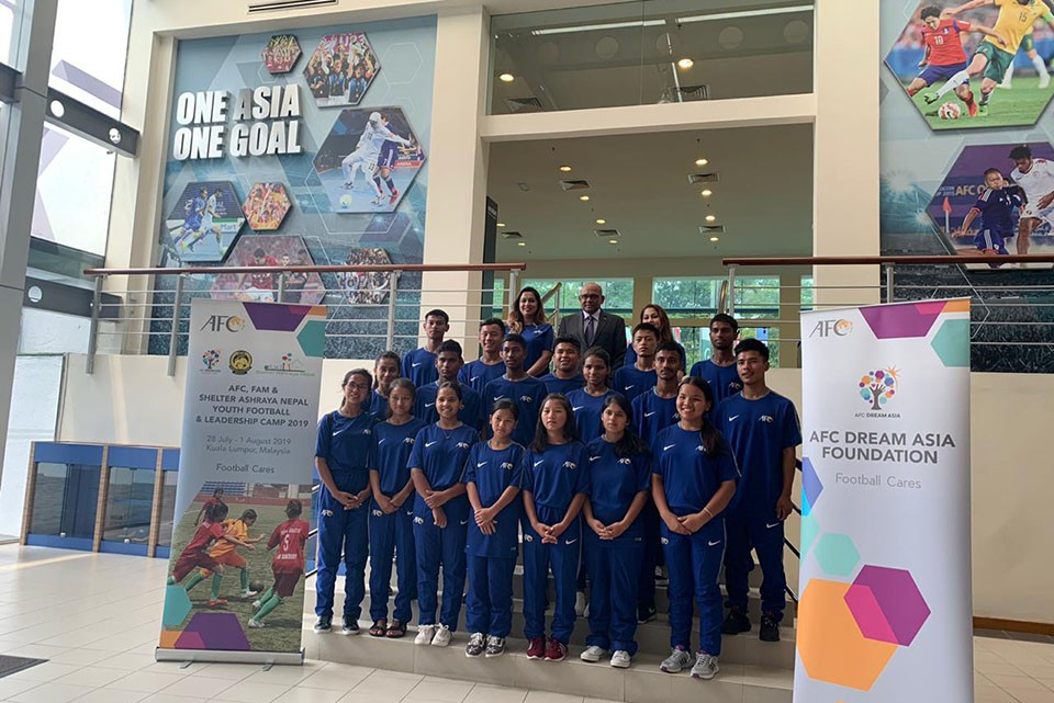 Street Children Football Team Rises And Shines In Malaysia