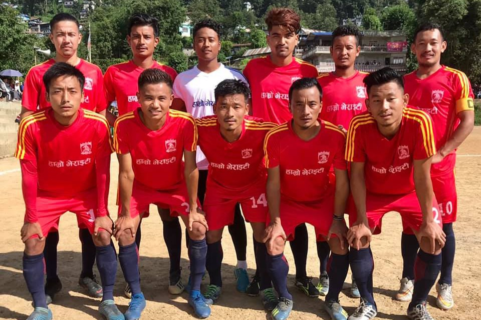 Taplejung: Red Star FC Enters SFs Of 4th Pathivara Gold Cup