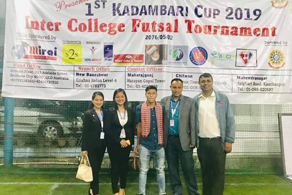 Kings College Wins Title Of Kadambari Memorial College Cup
