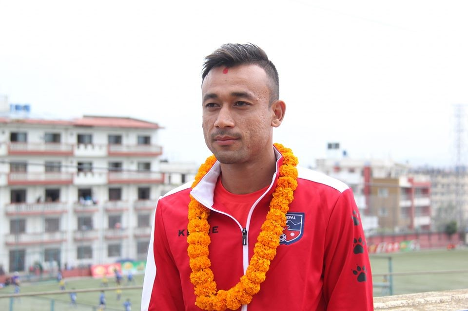 Sujal Shrestha To Captain Nepal Against Johor Darul Tazim FC