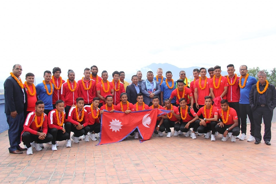 ANFA Bids National Team Farewell