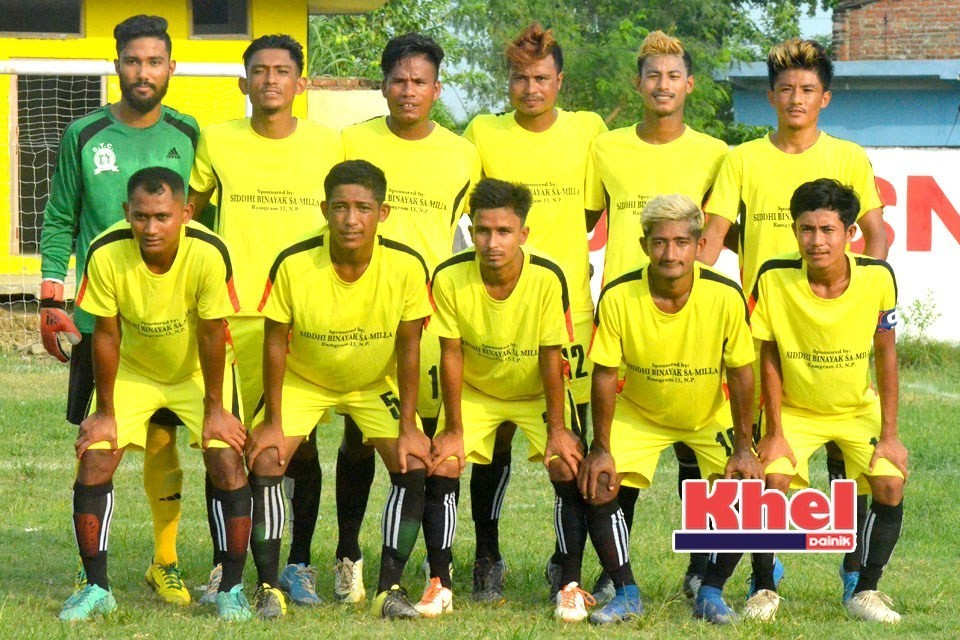 Rupandehi: Desbhakta Yuwa Club Enters SFs OF 19th Lisnu Cup